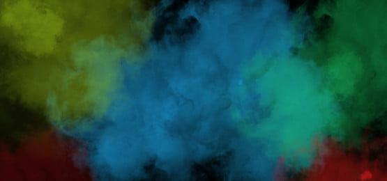 đám mây khói đầy màu sắc, Màu Sắc, Thuốc Lá., Nhiều Mây Ảnh nền