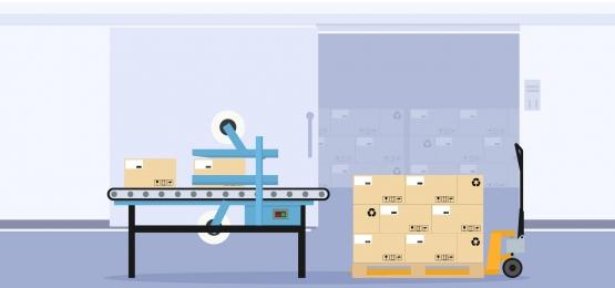 工業用包装およびシーリングボックスの自動生産ラインのための基金, 生産, ライン, 機械 背景画像