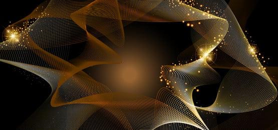 long lanh vàng và khung vàng sáng bóng trên nền nâu, Xa Xỉ, Tỏa Sáng, Abstract Ảnh nền
