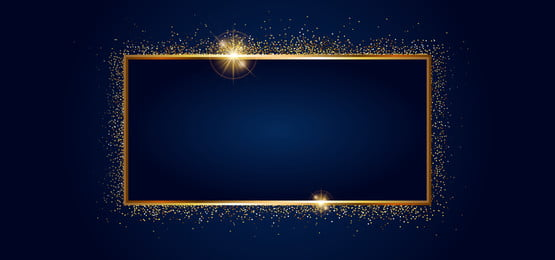 golden sparkling frame with golden glitter isolated on black background, Shine, Abstract, Background Background image