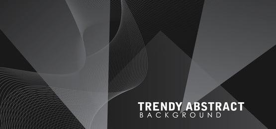 सार विषय के साथ ग्रेस्केल वेक्टर ट्रेंडी वॉलपेपर डिजाइन, आभूषण, वेक्टर, लाइनों पृष्ठभूमि छवि