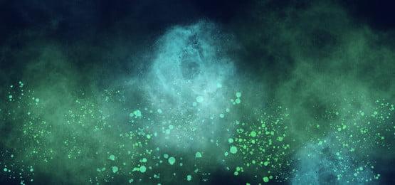 हरे छप के साथ हरे नीले धुएं की पृष्ठभूमि, धुआं, धूम्रपान प्रभाव, पृष्ठभूमि पृष्ठभूमि छवि