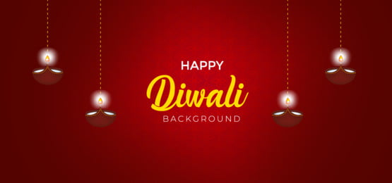 happy diwali banner templates with red background, Happy, Greeting, Festival Background image