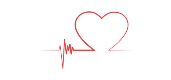 दिल के आकार का वैलेंटाइन जीवन रेखा पृष्ठभूमि, दिन, वैलेंटाइन्स, वेक्टर पृष्ठभूमि छवि