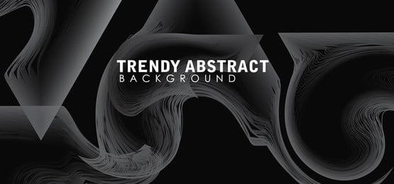 reka bentuk latar belakang vektor bergaya konsep grayscale, Latar Belakang, Bergaya, Konsep imej latar belakang