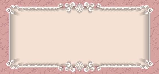 सफेद फूल फ्रेम फीता आभूषण, फ्रेम, चित्रण, रेट्रो पृष्ठभूमि छवि