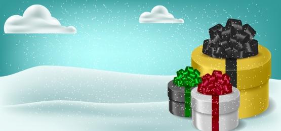 winter snow background, Set, Winter, Christmas Background image