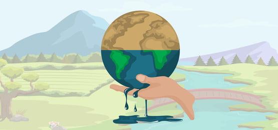 dana kesedaran pemanasan global mengenai pemanasan global, Global, Pemanasan, Bumi imej latar belakang