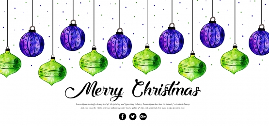 green purple merry christmas lamps background, Watercolor, Color, Colorful Background image