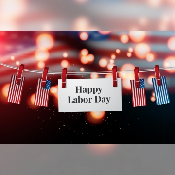 happy labor day banner design template vector illustration , Vector, Usa, Holiday Background image