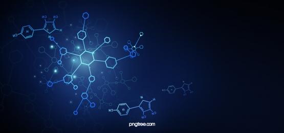 molecular structure technology background, Molecular Structure Technology Medical Experiment Technology Background image