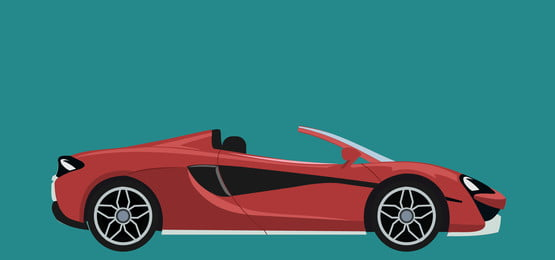 red luxury modern sports convertible car background, Blank, Automotive, Convertible Background image