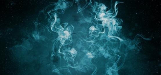어두운 배경에 푸른 연기, 담배, 블루, 배경 배경 이미지