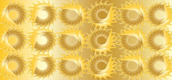 fantástico fundo dourado com formas 3d em cores douradas, Caixas, Golden, Papel De Parede Imagem de fundo