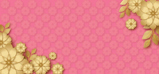 hoa vàng lấp lánh lấp lánh trong thiết kế nền màu hồng, Màu Hồng., Phấn Màu Hồng, Những Ngôi Sao Vàng Ảnh nền