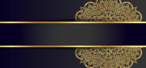 nền sang trọng với mandala vàng, Mạn - Đà - La, Xa Xỉ, Vàng Ảnh nền