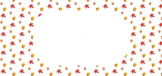 無縫的秋葉模式, 秋天, 樹葉, 花 背景圖片