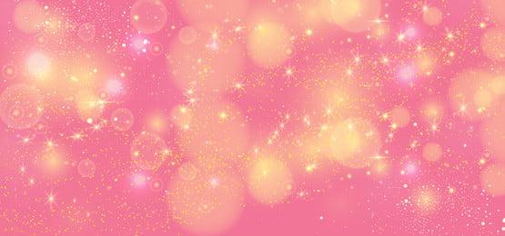 गुलाबी रंग वेक्टर पृष्ठभूमि में चमकदार सुनहरा चमक, गुलाबी, गुलाबी पेस्टल, सुनहरे सितारे पृष्ठभूमि छवि