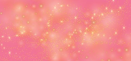 गुलाबी ढाल वेक्टर पृष्ठभूमि में चमकदार सुनहरा चमक, गुलाबी, गुलाबी पेस्टल, सुनहरे सितारे पृष्ठभूमि छवि