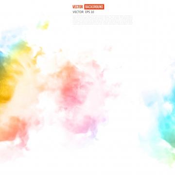 सार रंग स्याही बादल के साथ सफेद बैनर , छप, रंग, पानी के रंग का पृष्ठभूमि छवि