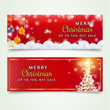 सुरुचिपूर्ण लाल क्रिसमस बिक्री बैनर संग्रह , क्रिसमस, बैनर, क्रिसमस वेक्टर पृष्ठभूमि छवि