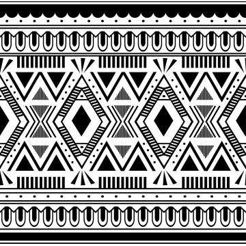 nền dân tộc mô hình liền mạch nền văn hóa navajo đã sẵn sàng cho thời trang dệt may minh họa vector màu đen và trắng , Thời Trang., Hoạ Tiết, Đồ Họa Của Ảnh nền