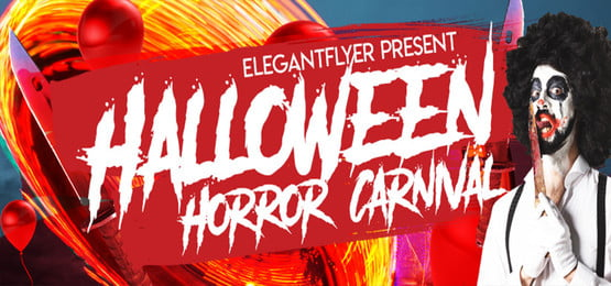 halloween horror carnival background design, Horror Carnival, Halloween Background, Carnival Background Background image