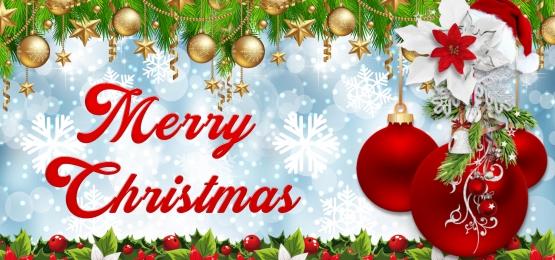merry christmas, Merry Christmas Latar Belakang, Bola Emas, Bola Merah imej latar belakang