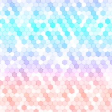 latar belakang geometri abstrak dengan heksagon warna , Hexagon, Hexagon, Corak imej latar belakang