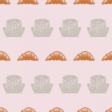 निर्बाध पैटर्न बेकरी कप केक , कप केक, बेकरी, पैटर्न पृष्ठभूमि छवि