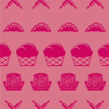 produk bakeri corak lancar rolling pin pastri , Makanan, Roti, Pastri imej latar belakang