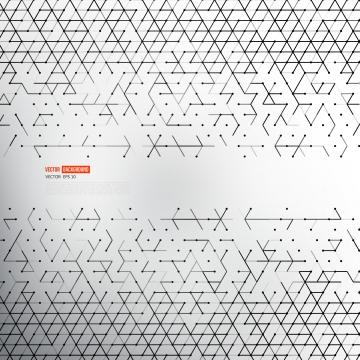 sepanduk abstrak putih abstrak atau garis patah , Triangle, Corak, Abstrak imej latar belakang