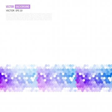 बैंगनी हेक्सागोन्स पैटर्न के साथ सफेद बैनर , षट्भुज, हेक्सागोनल, पैटर्न पृष्ठभूमि छवि