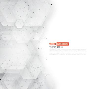 3 डी अमूर्त हेक्सागोन्स और नेटवर्क के साथ सफेद फ्लायर , षट्भुज, हेक्सागोनल, पैटर्न पृष्ठभूमि छवि