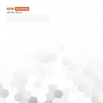 灰色の幾何学的な六角形の白いポスター , 六角形, 六角形, パターン 背景画像