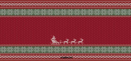 क्रिसमस स्वेटर पृष्ठभूमि, क्रिसमस, स्वेटर, लाल पृष्ठभूमि छवि