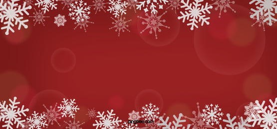 white snowflakes christmas fantasy red halo background, Snowflake, Vầng Hào Quang, 光感 hình nền