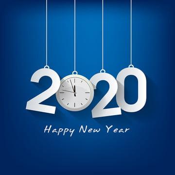 खुश नया साल 2020 , पृष्ठभूमि, गेंद, Baubles पृष्ठभूमि छवि