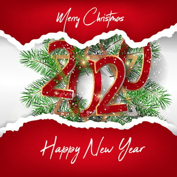 happy new year 2020 merry christmas decoration , 2020, 2020 New Year, Background Background image