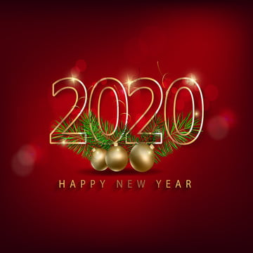 happy new year 2020 merry christmas , 2020 New Year, Background, Ball Background image