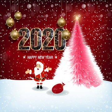 happy new year 2020 merry christmas of the rat , Brochure, Card, Celebrate Background image