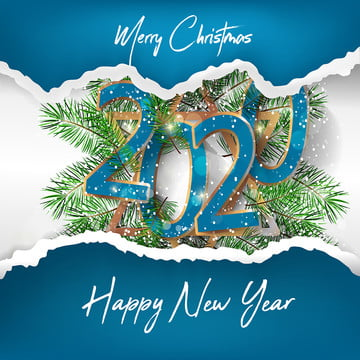 happy new year 2020 merry christmas tree , Baubles, Brochure, Card Background image