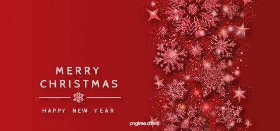 kết cấu màu đỏ hiệu ứng bông tuyết nền giáng sinh, Hiệu ứng ánh Sáng., Giáng Sinh, Snowflake Ảnh nền