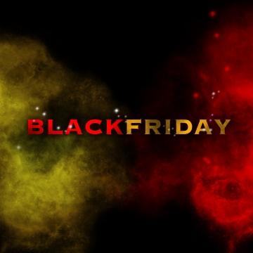 煙の効果で黒い金曜日の背景 , ブラックフライデー, 背景, 旗 背景画像