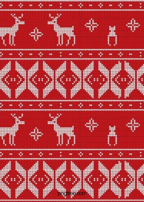 크리스마스 스웨터 배경 , 성탄절, 붉다, 스웨터 배경 이미지