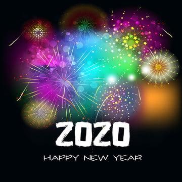 새해 복 많이 받으세요 2020년 , 커버, 창의, 12월 배경 이미지