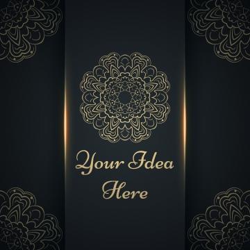 ماندالا مهندي   قالب عرقي ذهبي , الاسلام الهند, ماندالا, الحناء صور الخلفية