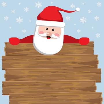 सांता साइन लकड़ी की पृष्ठभूमि के पीछे , साइन इन करें, क्रिसमस, सांता पृष्ठभूमि छवि