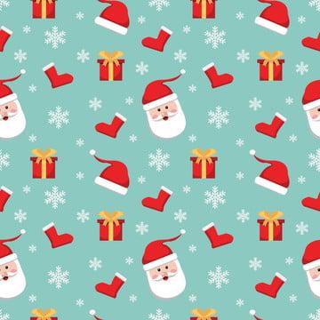 सांता क्लॉस क्रिसमस सहज पैटर्न पृष्ठभूमि , क्रिसमस, डिजाइन, पैटर्न पृष्ठभूमि छवि
