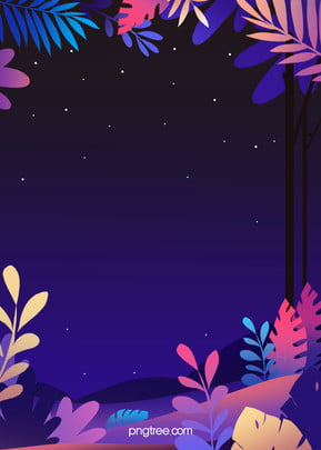 night star plant background, Jungle, Leaf, Night Background image